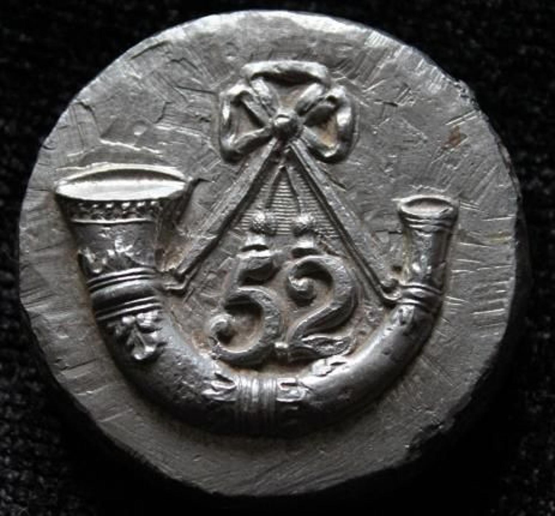 52nd Oxfordshire Regiment Badge Mould