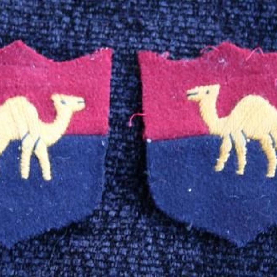 Middle East Command GHQ Cloth Formation Pair