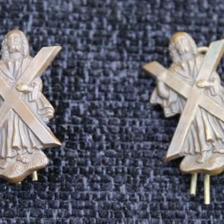 Black Watch Bronze Officers Collars