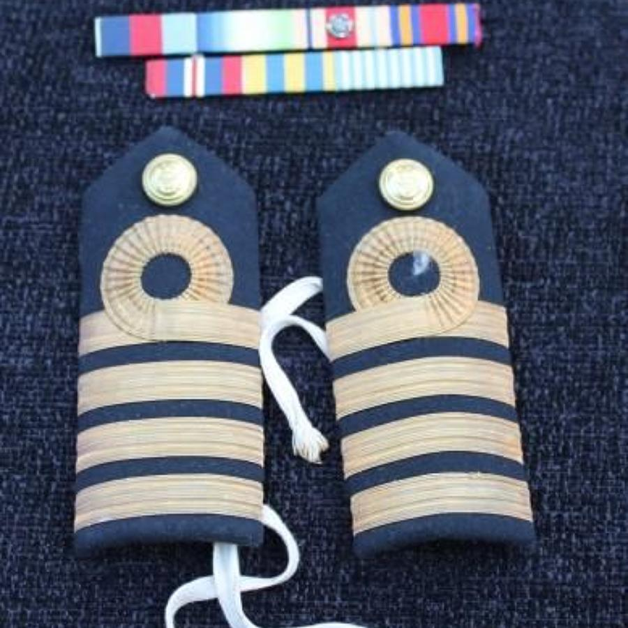 Korea Period Royal Naval Insignia