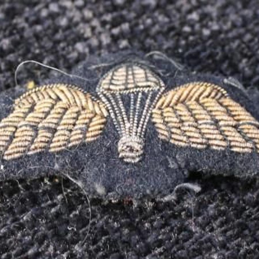 Bullion Parachute Wings