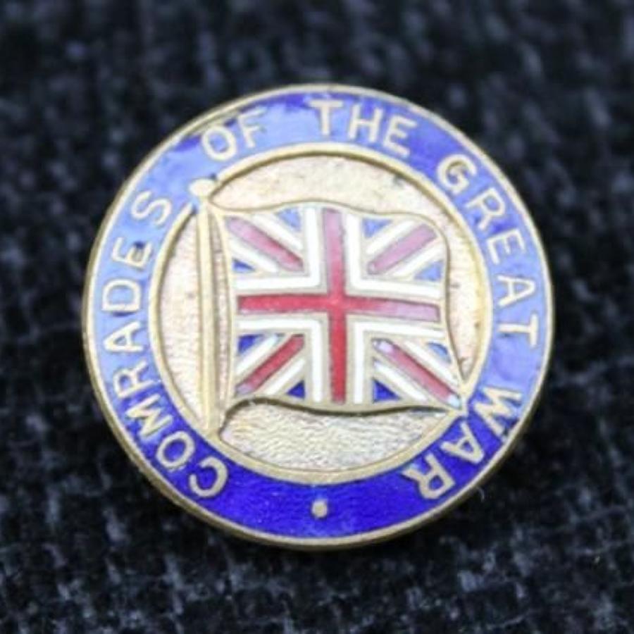 Comrades Of The Great War Pin Badge