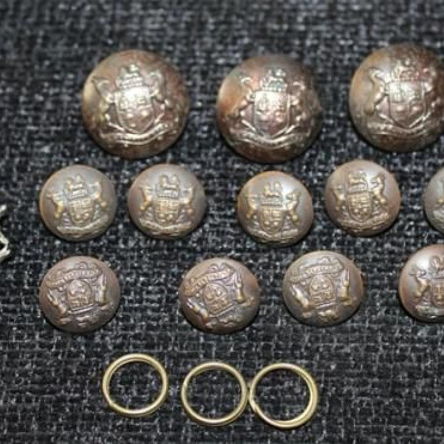 South African Defence Force Officers Buttons