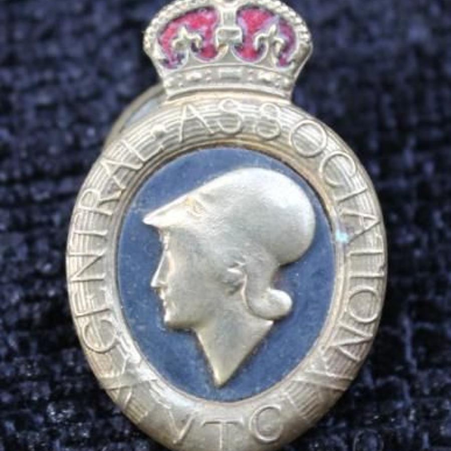 Central Association Volunteer Training Corps Badge