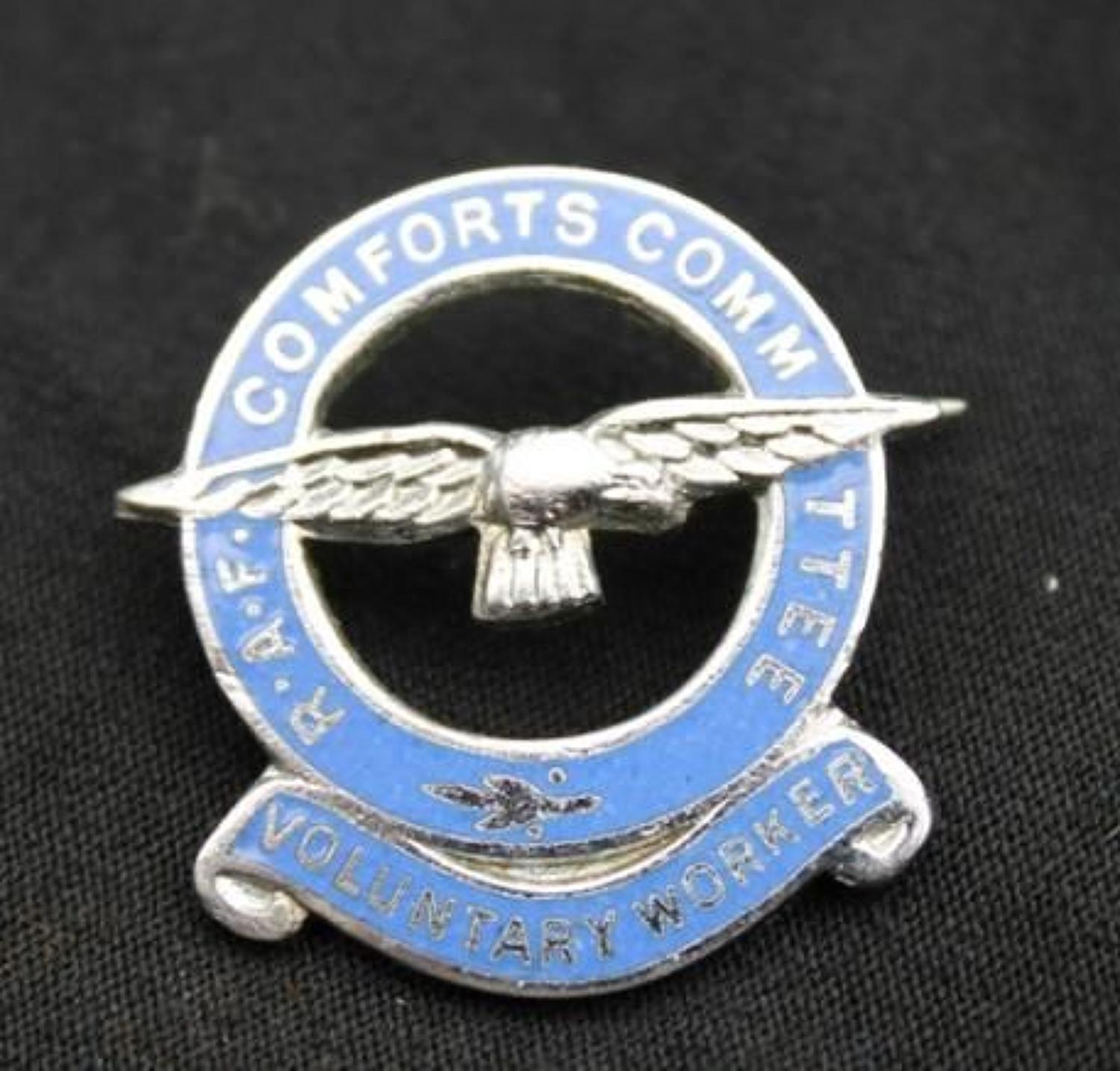 RAF Comforts Committee Badge
