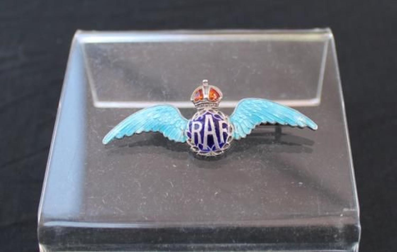 Early RAF Sweetheart Brooch