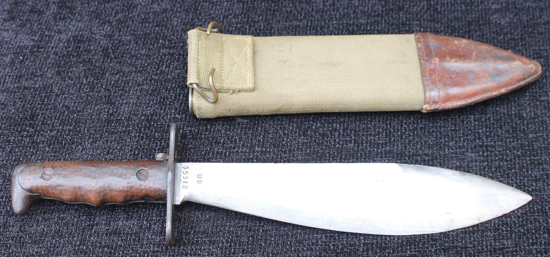 US Machine Gunner's Bolo Knife