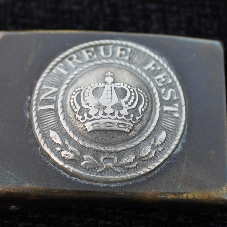 1895 Pattern WW1 Bavarian Belt Buckle