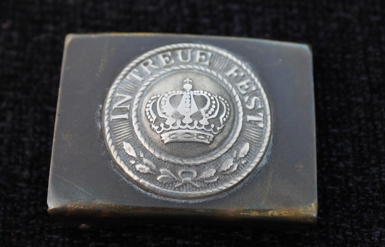 1895 Pattern WW1 Bavarian Belt Buckle