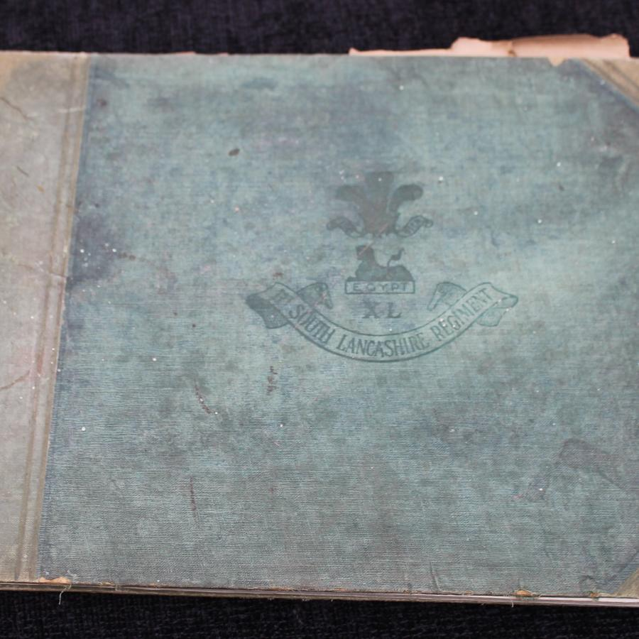 First Battalion South Lancashire Regiment Lahore Photograph Album