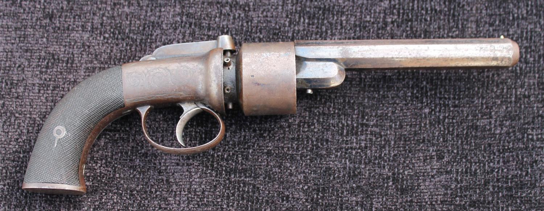 English Transitional Revolver
