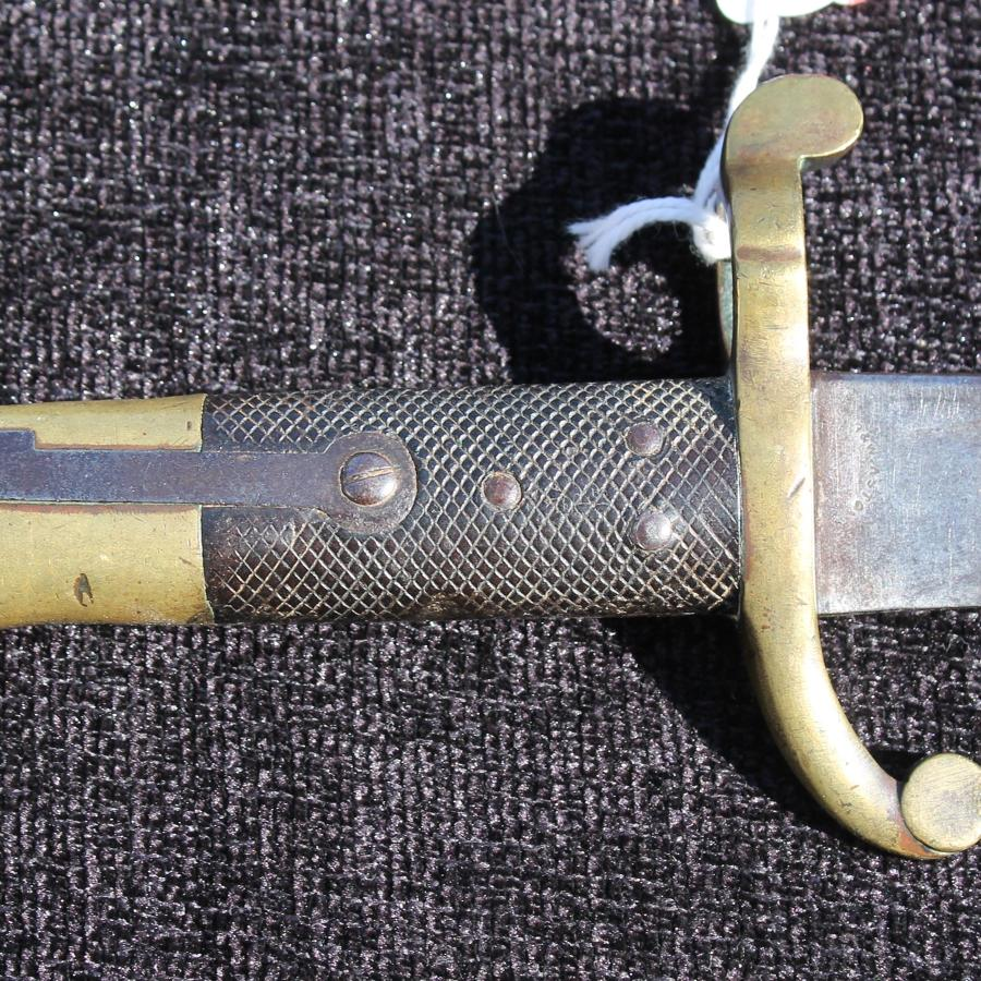 British Lancaster Bayonet