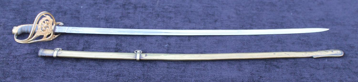 Royal Scots Fusiliers Special Pattern Officers Sword
