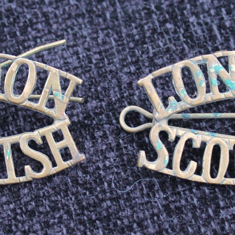 London Scottish Shoulder Titles