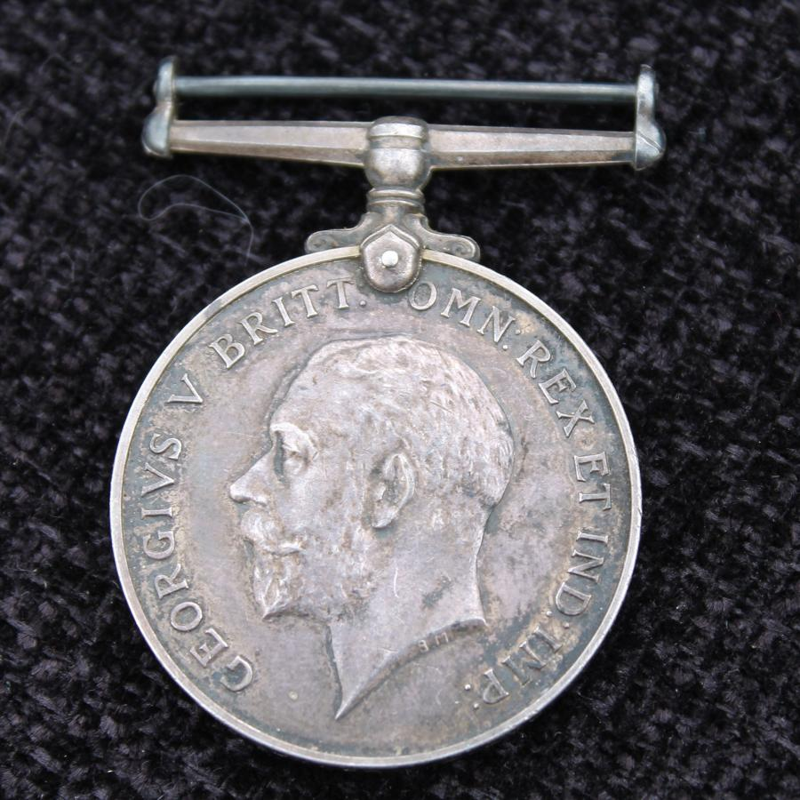 British War Medal Army Cyclist Corps