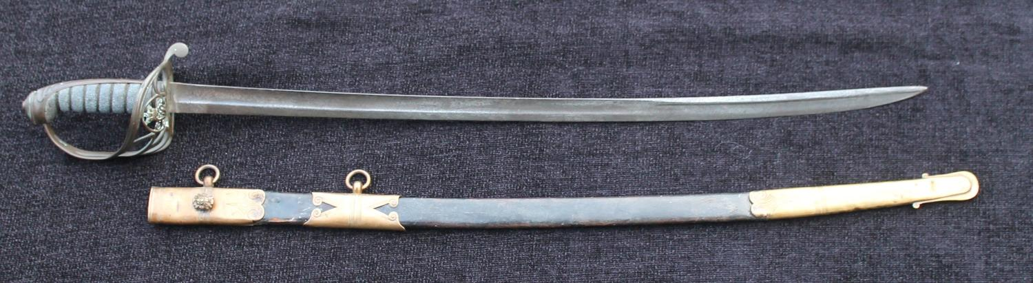 1822 Pattern Infantry Officers Sword