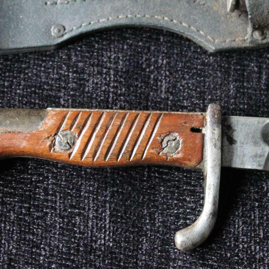 German Sawback S98/05 Bayonet