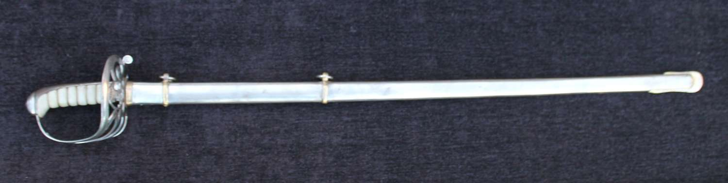 Derbyshire Rifle Volunteers Officers Sword