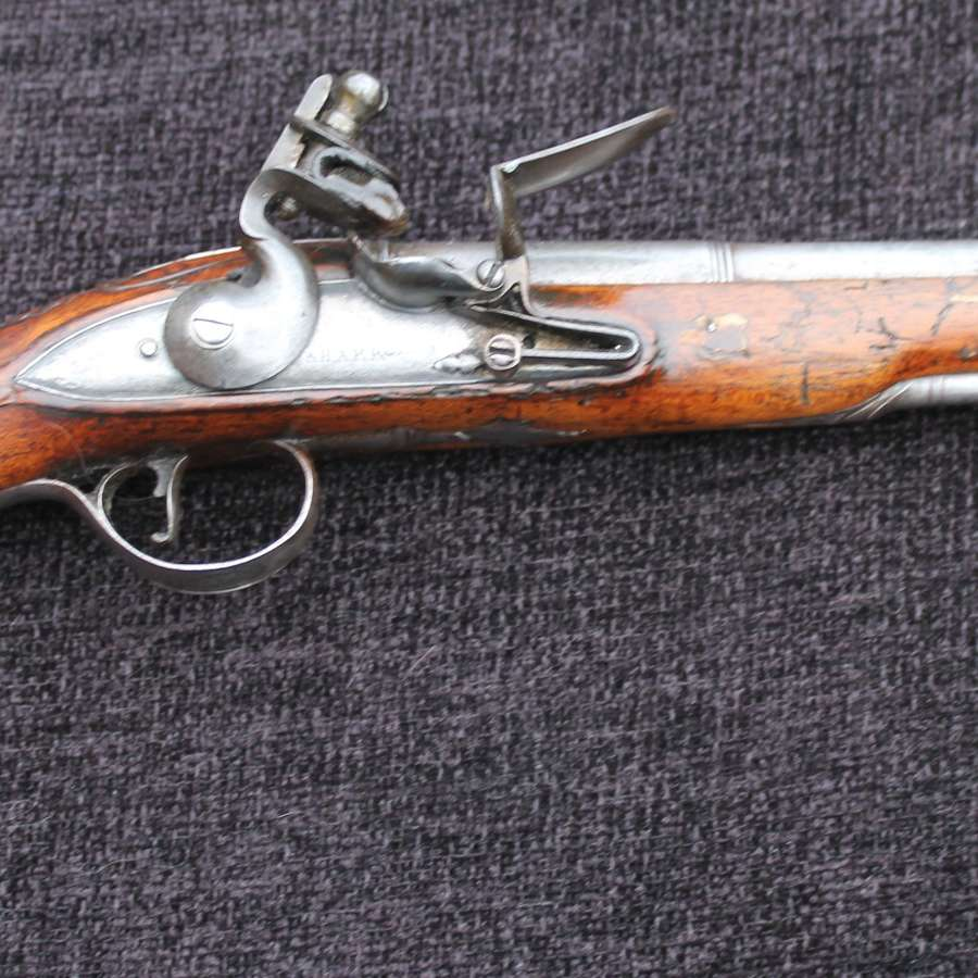 Flintlock Officers Pistol Circa 1770