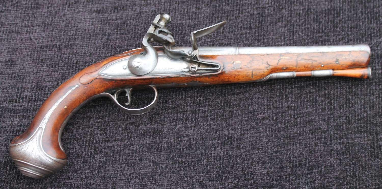 Flintlock Officers Pistol Circa 1770