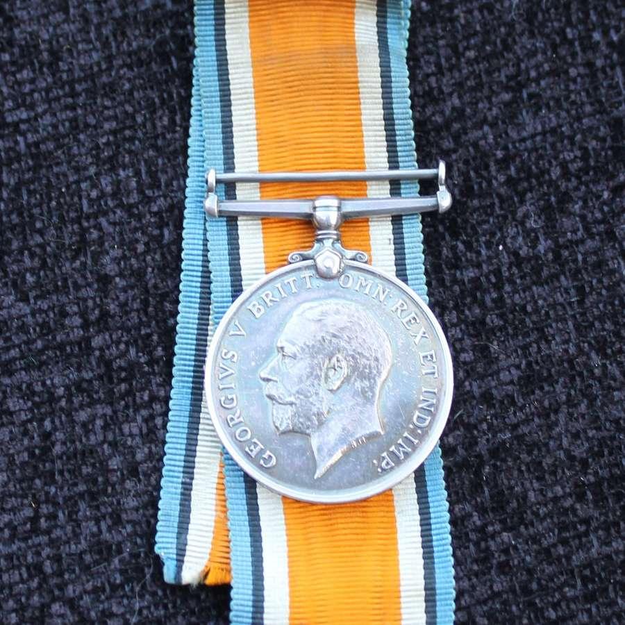 British War Medal Ox and Bucks