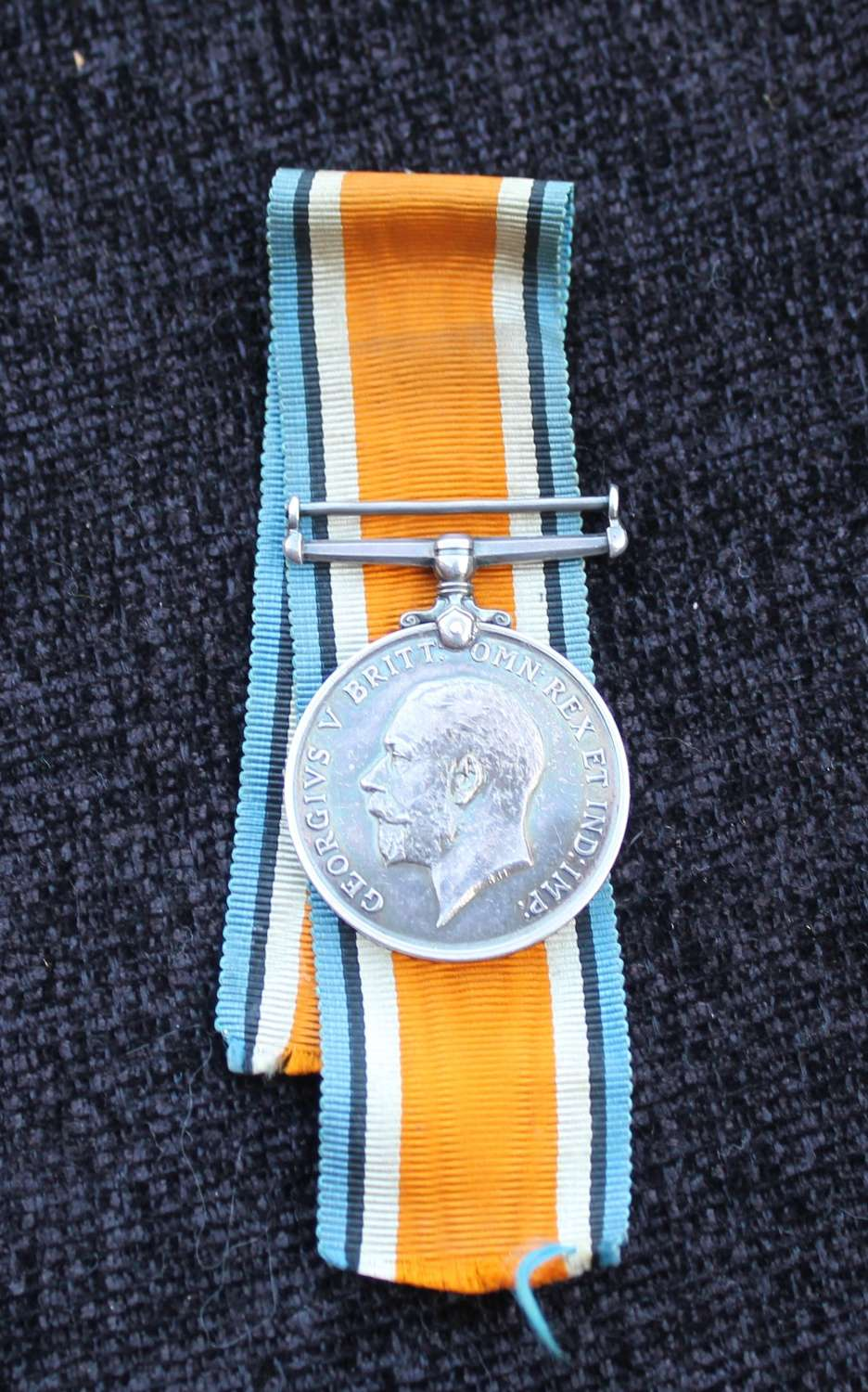 British War Medal Ox and Bucks
