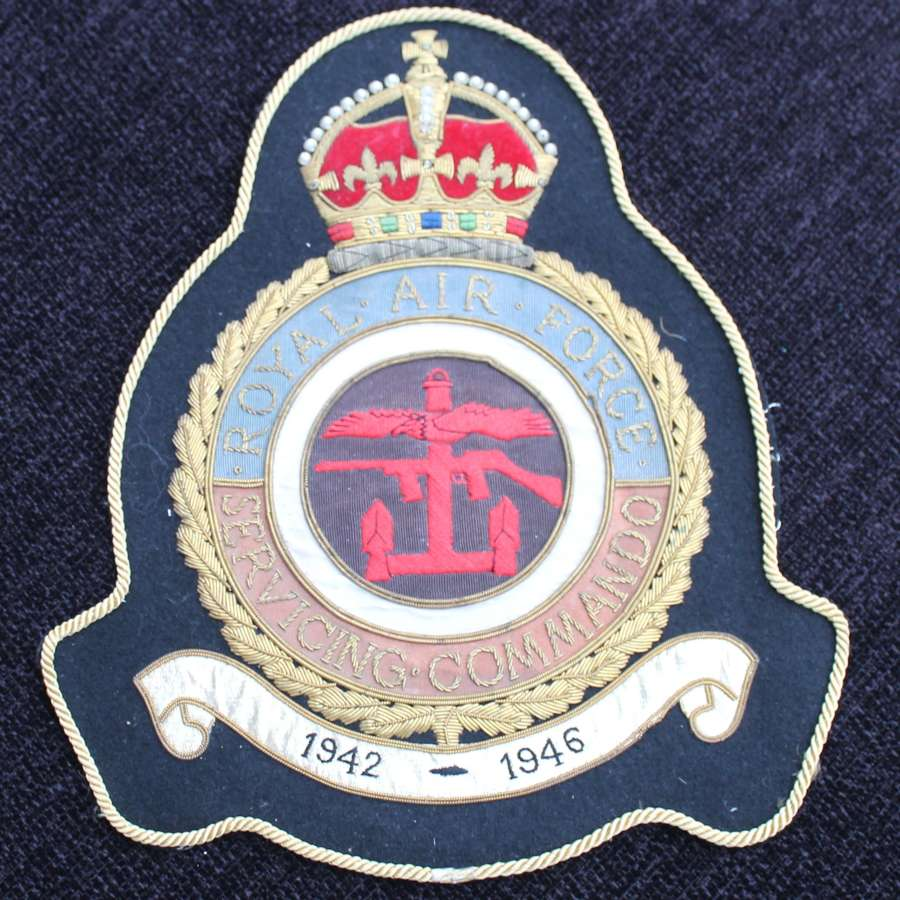 Royal Air Force Servicing Commando Badge