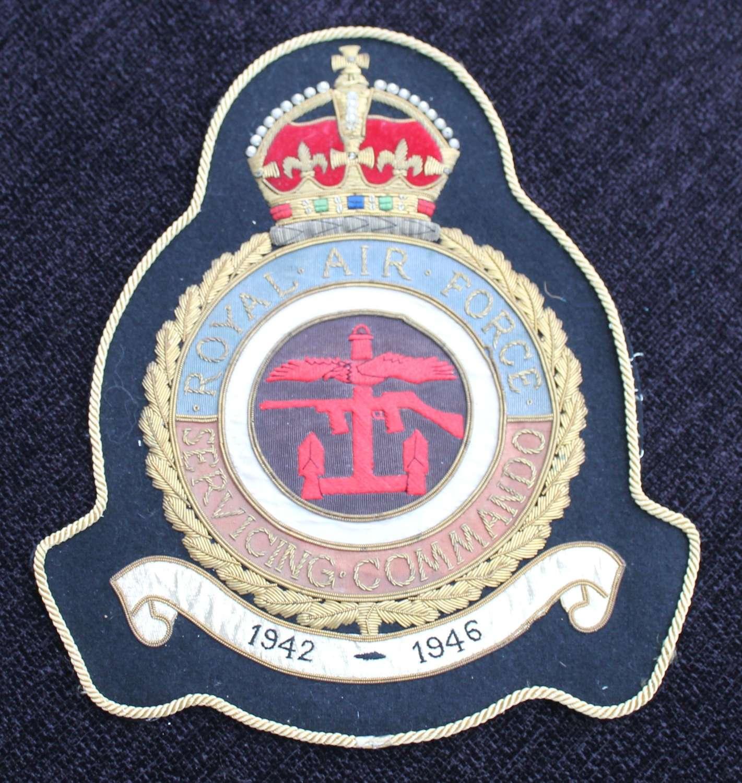 Royal Air Force Servicing Commando Badge