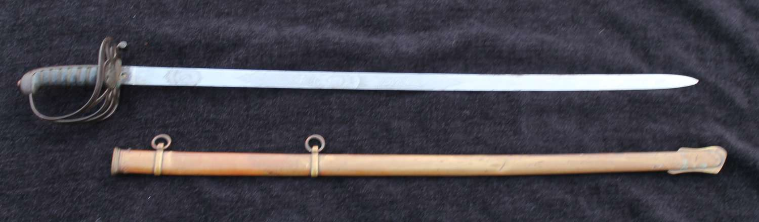Special Pattern Steel Hilted Wilkinson Officers Sword