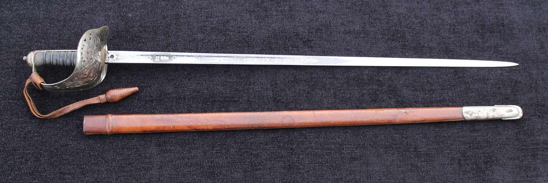 Wilkinson Officers Sword Royal Engineers