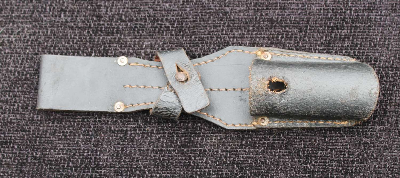 Leather K98 Bayonet Frog (A)