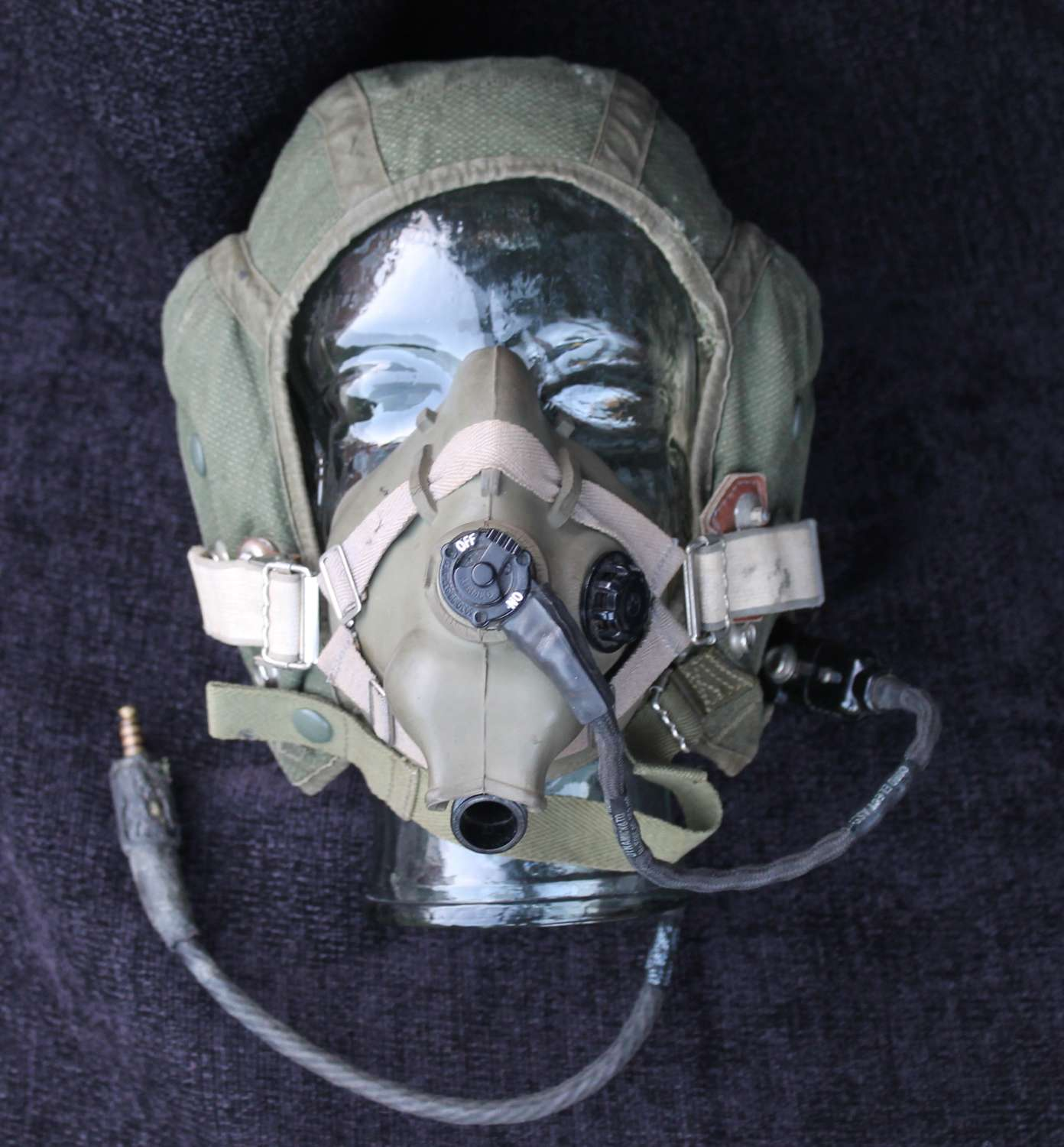 RAF Type G Flying Helmet and Mask