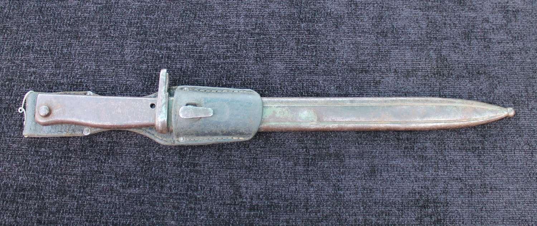 Imperial German Ersatz Bayonet Steel Hilt