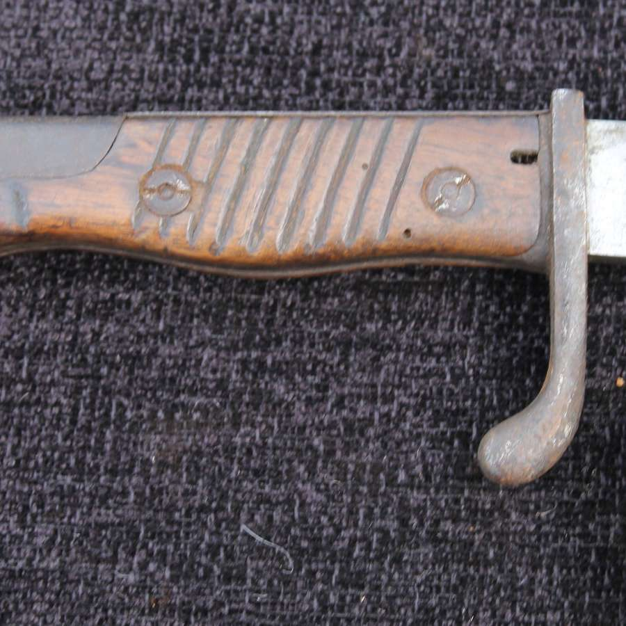 WW1 German Butcher Bayonet