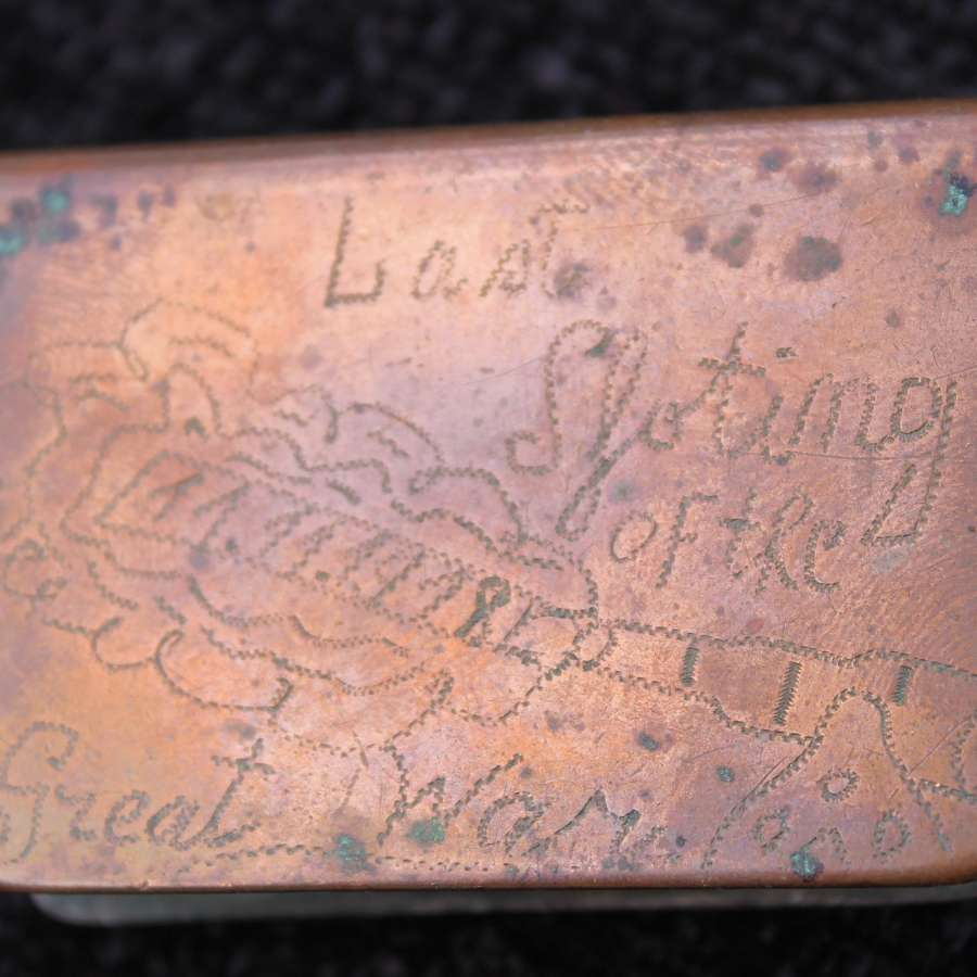 Trench Art Match Cover