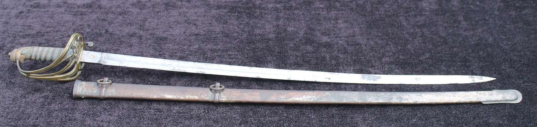 Devon Volunteer Artillery Officers Sword