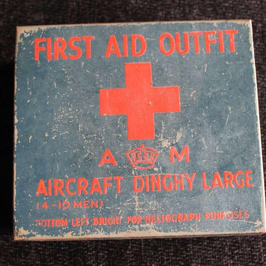 RAF Survival Dinghy First Aid Tin