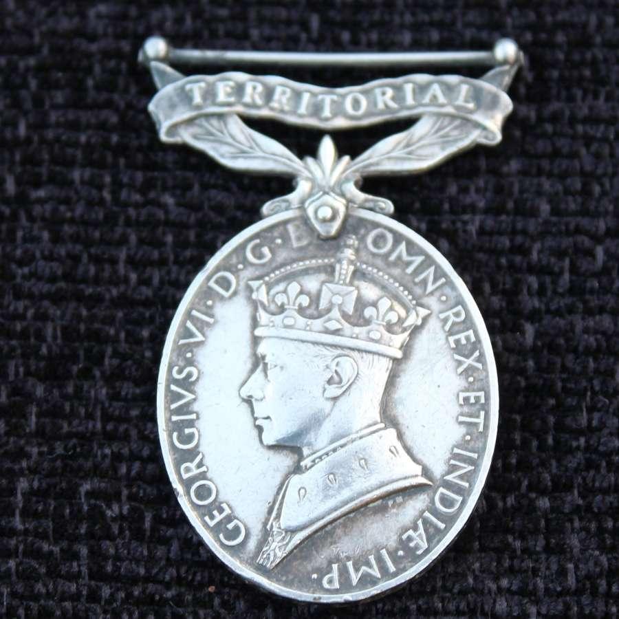 Burma Star Territorial Medal Group