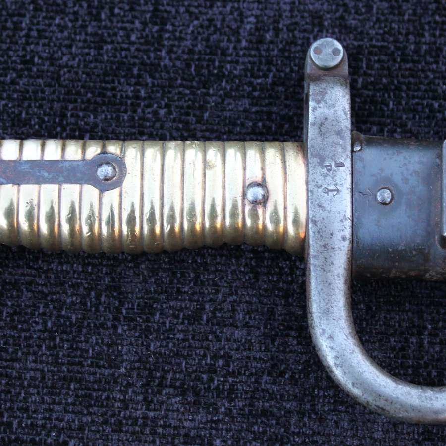 French Chassepot Bayonet, Matching Numbers