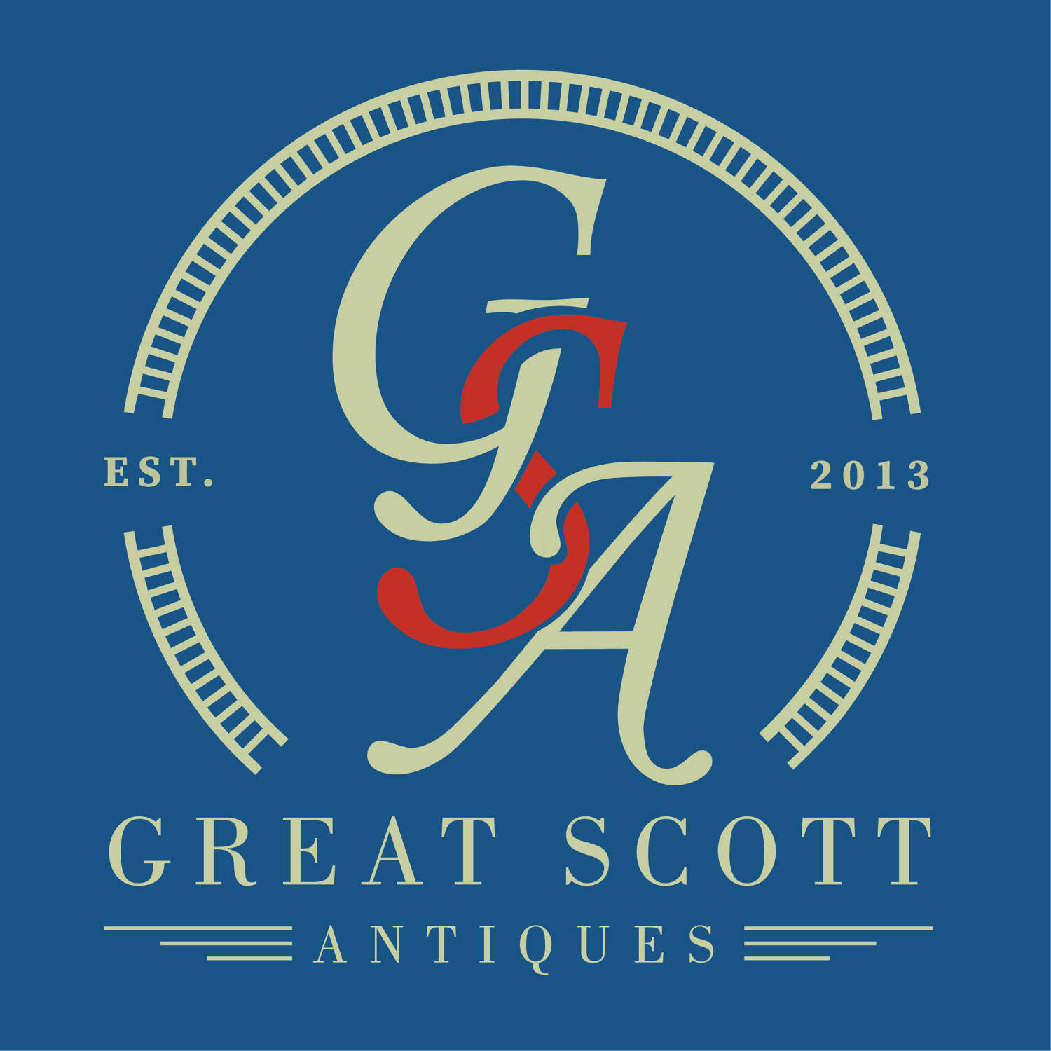 A Christmas Message From Great Scott Antiques