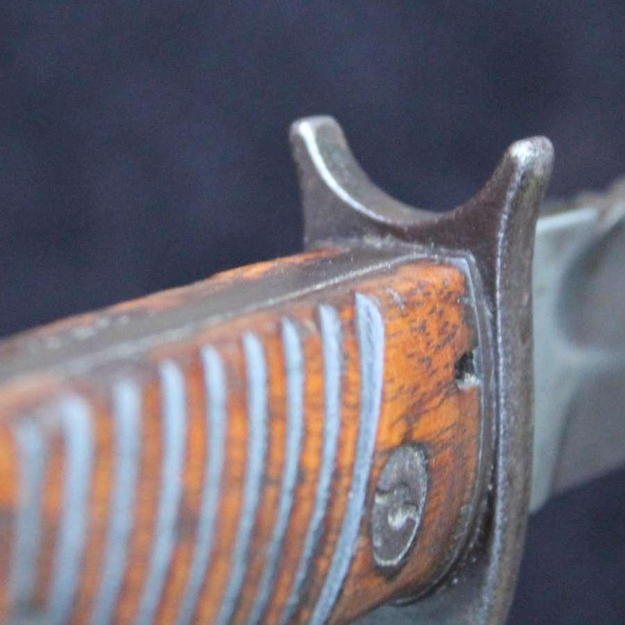 1st Pattern Imperial German Butcher Bayonet