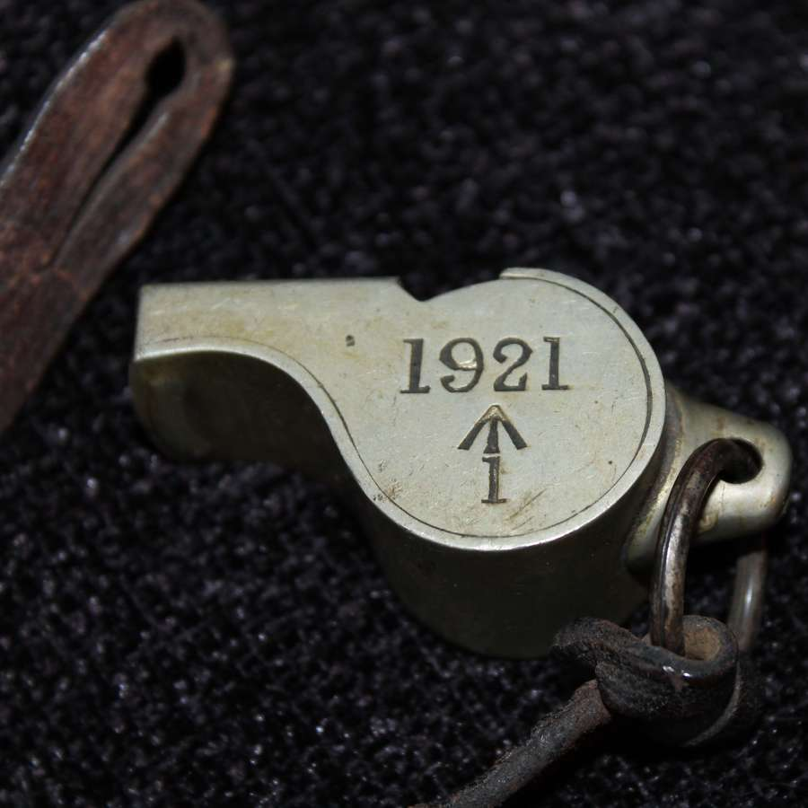 1921 Dated Indian Army Whistle