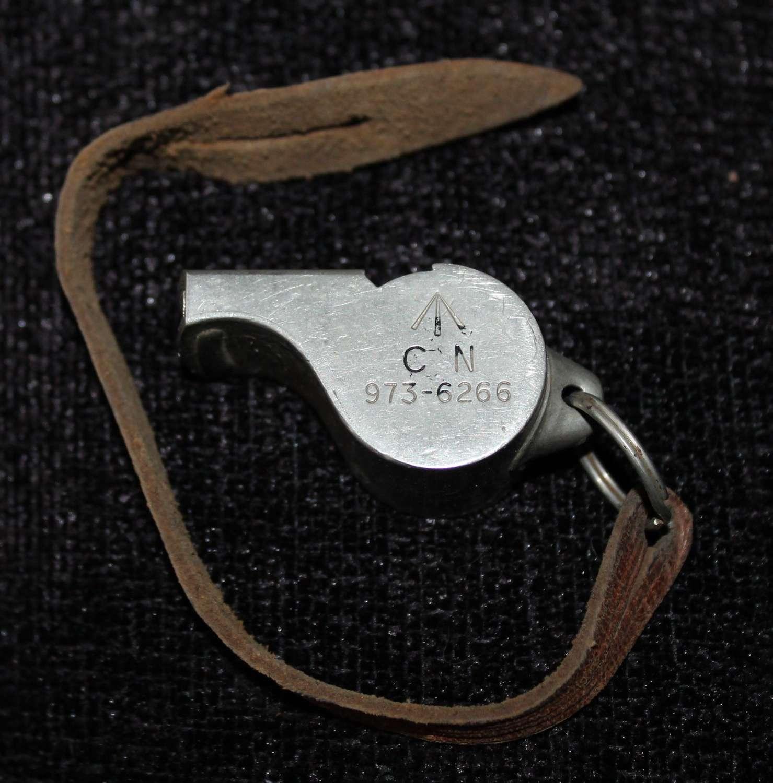 Military Whistle