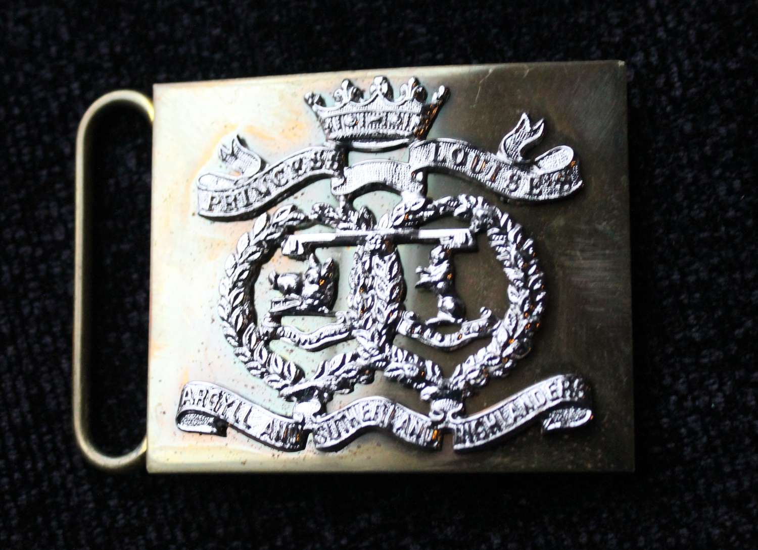 Argyll And Sutherland Highlanders Belt Buckle