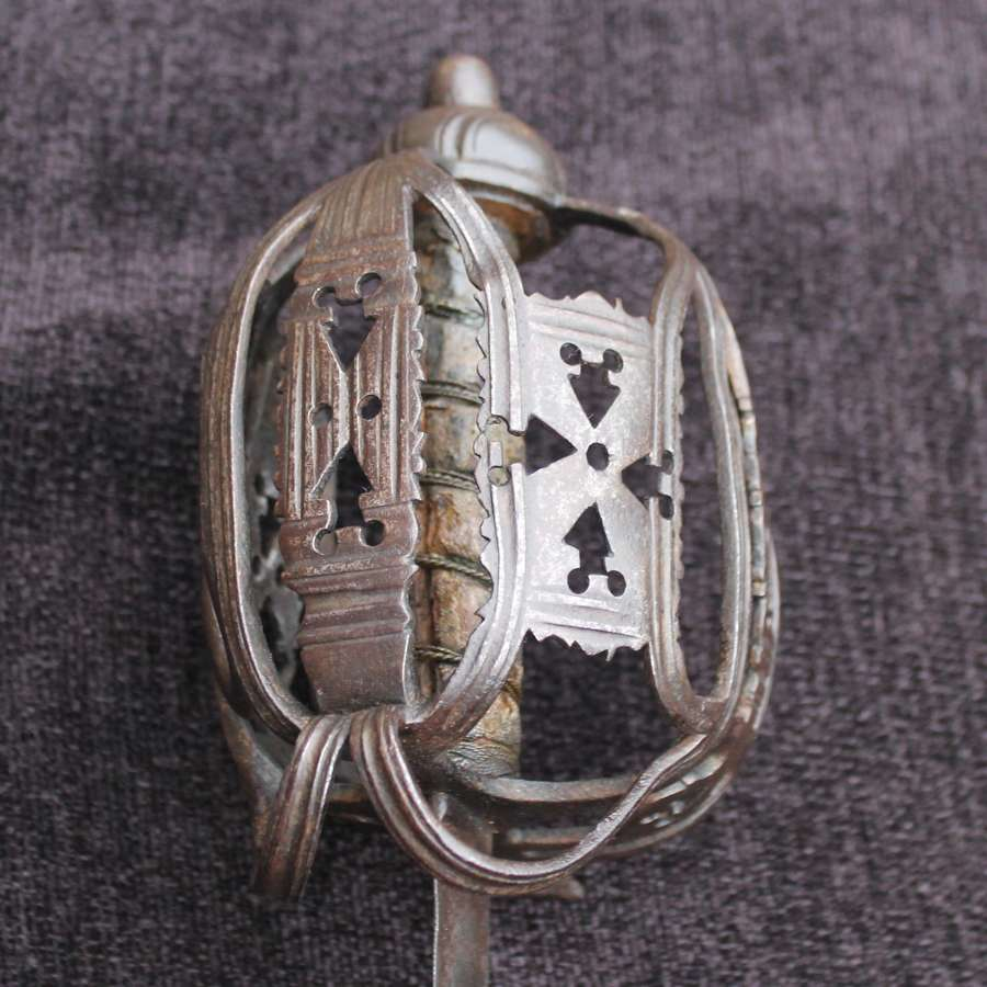A Scottish Basket Hilted Backsword