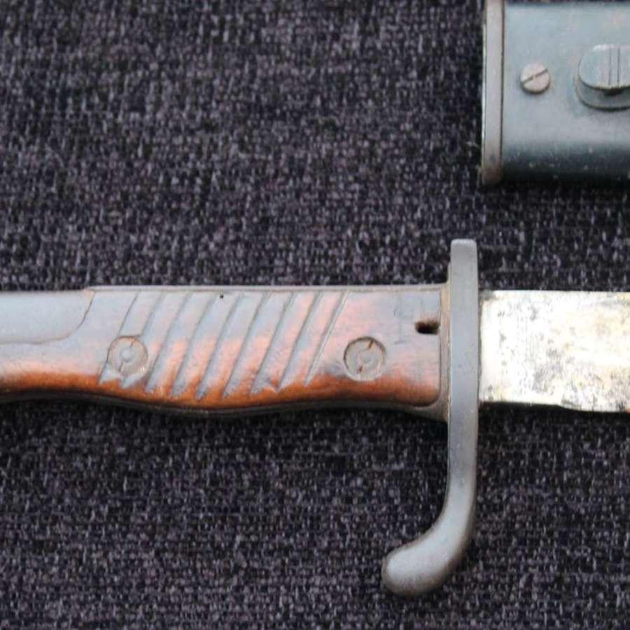 1st Pattern 1915 Imperial German Butcher Bayonet