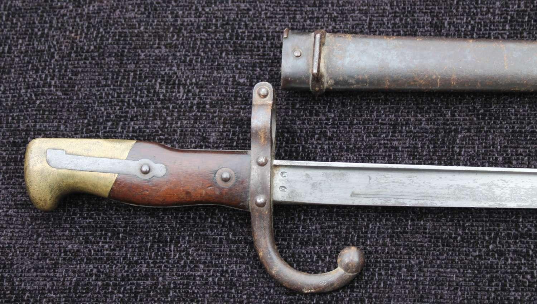 French Gras Rifle Bayonet