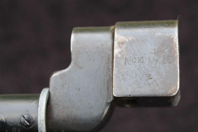 No4 MK II Spike Bayonet