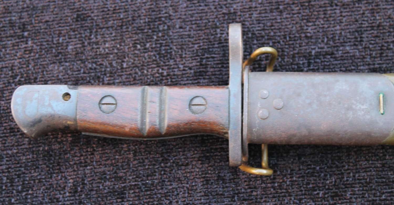 American Remington Model 1917 Bayonet
