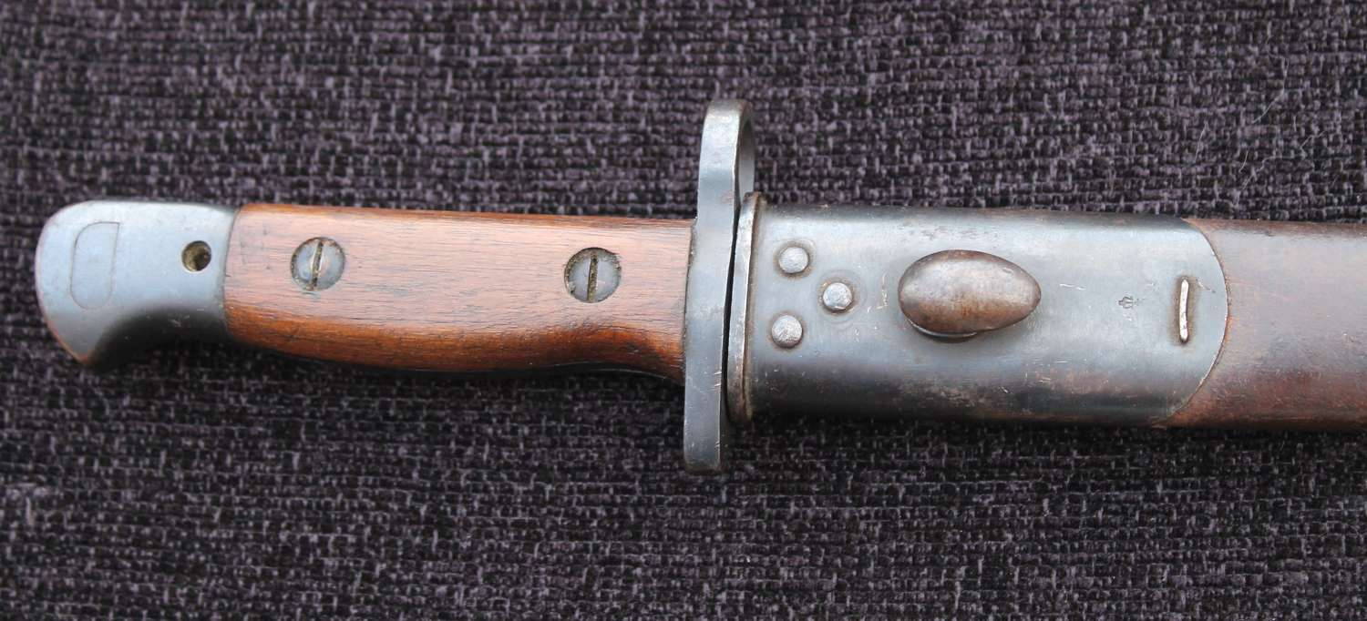 Near Mint WW1 1907 SMLE Bayonet